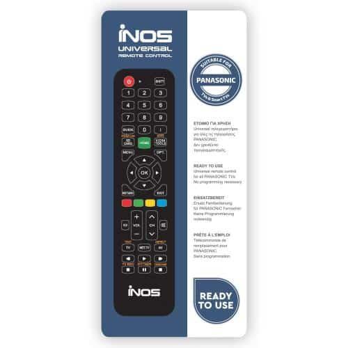 Remote Control inos for Panasonic TVs & Smart TVs (Ready To Use)