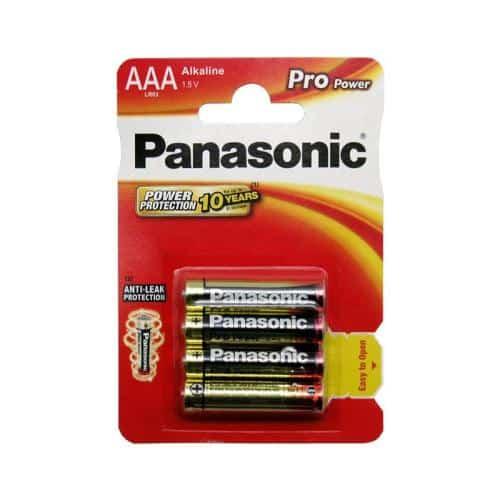 Μπαταρία Alkaline Pro Power Panasonic AAA LR03 (4 τεμ.)