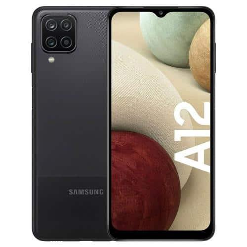 Mobile Phone Samsung A125F Galaxy A12 (Dual SIM) 64GB 4GB RAM Black
