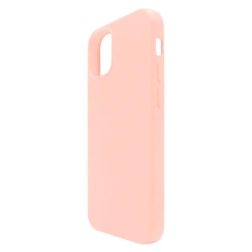 Liquid Silicon inos Apple iPhone 12/ 12 Pro L-Cover Salmon Pink