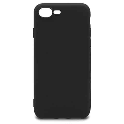 Soft TPU inos Apple iPhone 7 Plus/ iPhone 8 Plus S-Cover Black
