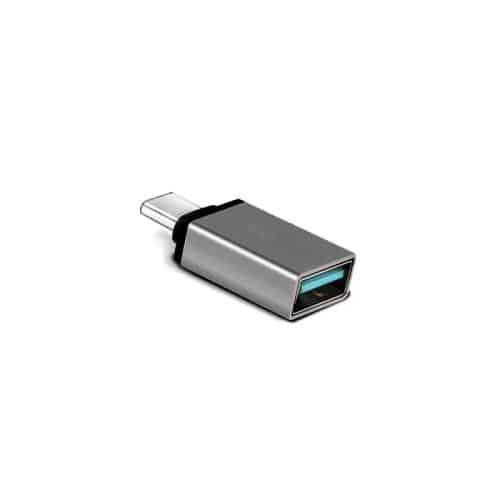 Adaptor USB OTG Host (Female) to USB C (Male) Metallic Grey (Bulk)