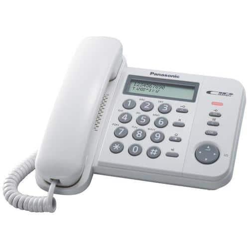 Land Line Panasonic KX-TS560EX White