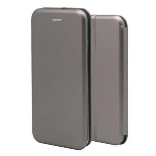 Flip Book Case inos Xiaomi Redmi Note 8T Curved M-Folio Smoke Grey