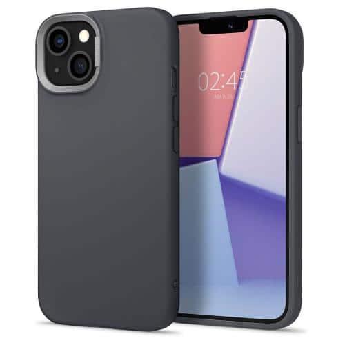 Θήκη Soft TPU & PC Spigen Cyrill Color Brick Apple iPhone 13 mini Γκρι
