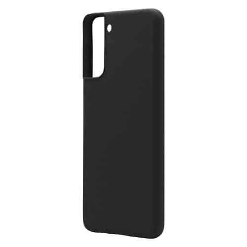 Θήκη Liquid Silicon inos Samsung G996B Galaxy S21 Plus 5G L-Cover Μαύρο