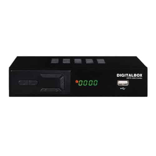 Επίγειος Ψηφιακός Δέκτης MPEG 4 Digitalbox HDTA-1200 Combo με Τηλεχειριστήριο