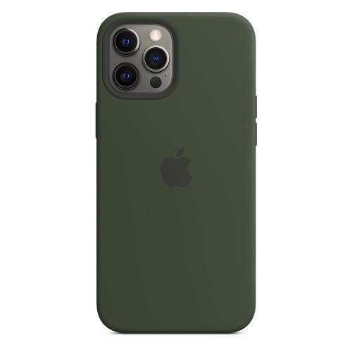 Silicon Case with MagSafe Apple MHLC3 iPhone 12 Pro Max Cyprus Green
