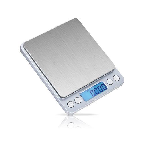 Digital Kitchen Precision Scale Telco I2000 3Kg/0.1gr Silver