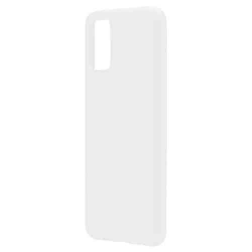 Θήκη Liquid Silicon inos Samsung A025F Galaxy A02s L-Cover Λευκό