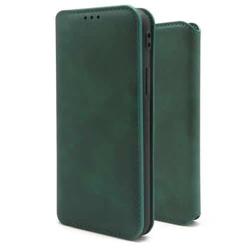 Flip Book Case inos Apple iPhone 12 / 12 Pro C-Folio Dark Green