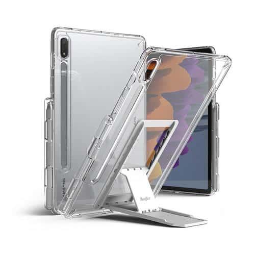 Θήκη TPU & PC με Σταντ Ringke Fusion Combo Samsung T870 Galaxy Tab S7 Wi-Fi/ T875 Galaxy Tab S7 4G Διάφανο