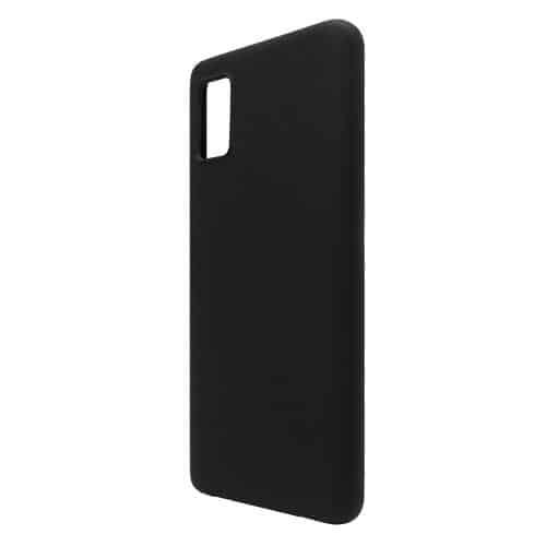 Liquid Silicon inos Samsung A415F Galaxy A41 L-Cover Matte Black