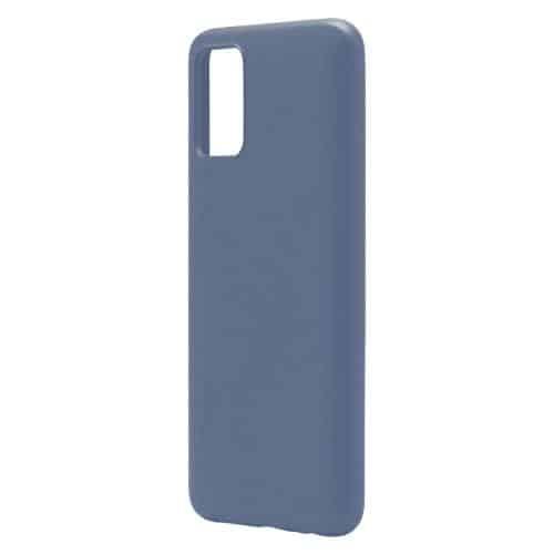 Θήκη Liquid Silicon inos Samsung A025F Galaxy A02s L-Cover Μπλε Ραφ