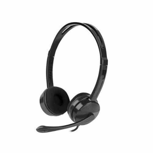Στερεοφωνικά Ακουστικά Natec Canary Go NSL-1665 με Μικρόφωνο Μαύρο