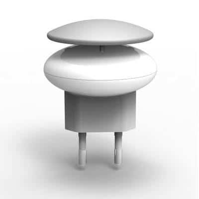 Φορτιστής Ταξιδίου Osungo Mushroom με Έξοδο USB 5V/1.0A Γκρί
