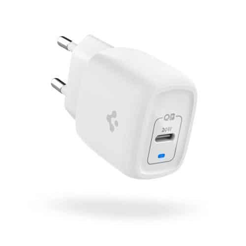 Travel Charger Spigen PowerArc ArcStation Pro PE2009EU PD 20W with USB C Output White