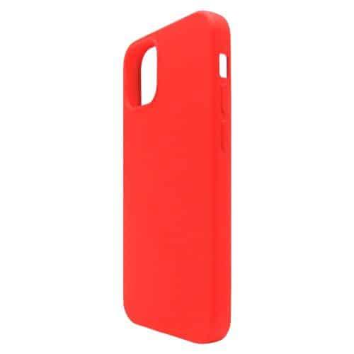 Θήκη Liquid Silicon inos Apple iPhone 12 Pro Max L-Cover Κόκκινο