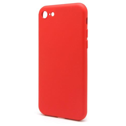 Liquid Silicon inos Apple iPhone 8/ iPhone SE (2020) L-Cover Hot Red