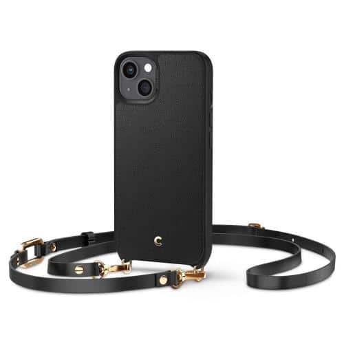Θήκη Soft TPU & PC Spigen Cyrill Classic Charm Apple iPhone 13 Μαύρο