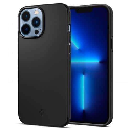 TPU Case Spigen Thin Fit Apple iPhone 13 Pro Max Black