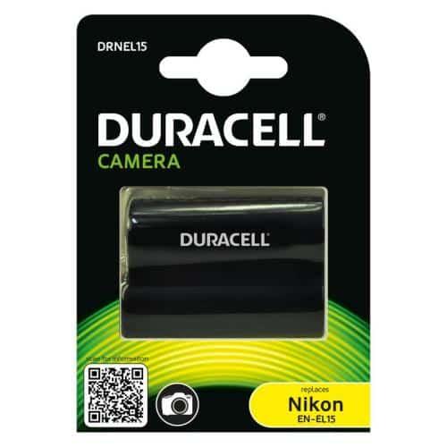 Camera Battery Duracell DRNEL15 for Nikon EN-EL15 7.4V 1600mAh (1 pc)