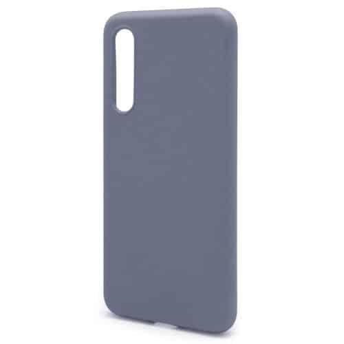 Θήκη Liquid Silicon inos Xiaomi Mi 9 L-Cover Γκρι-Μπλε