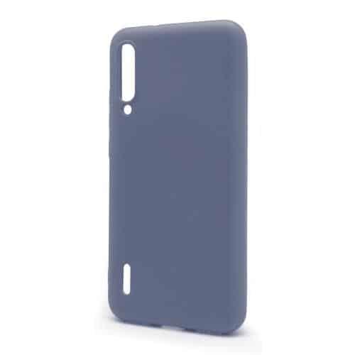 Liquid Silicon inos Xiaomi Mi A3 L-Cover Blueberry