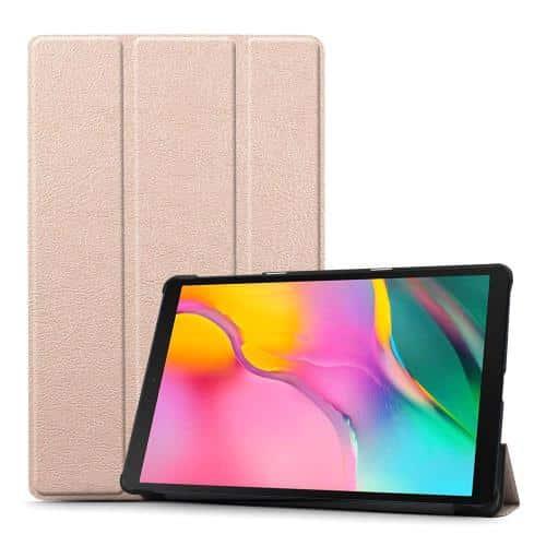 Θήκη Flip Smart inos Samsung Galaxy Tab A 10.1 (2019) Ροζ-Χρυσό