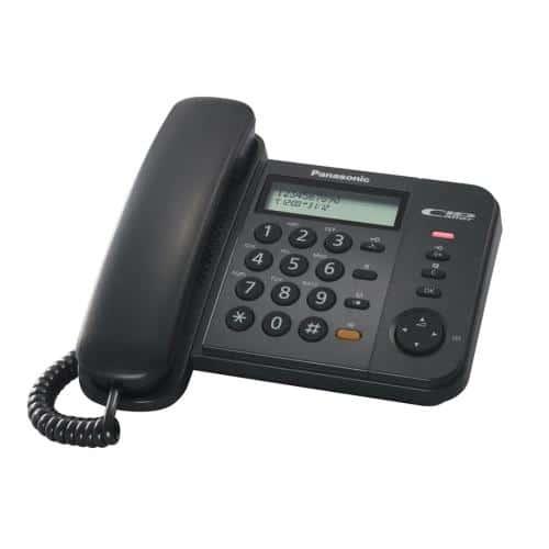 Land Line Phone Panasonic KX-TS580EX2B Black