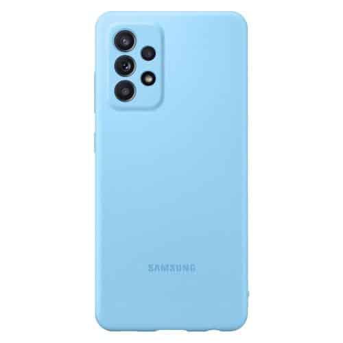 Silicon Cover Samsung EF-PA525TLEG A525F Galaxy A52/ A526B Galaxy A52 5G Blue