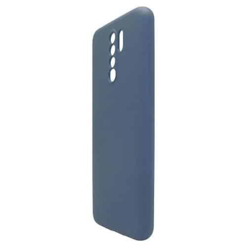 Θήκη Liquid Silicon inos Xiaomi Redmi 9 L-Cover Μπλε Ραφ