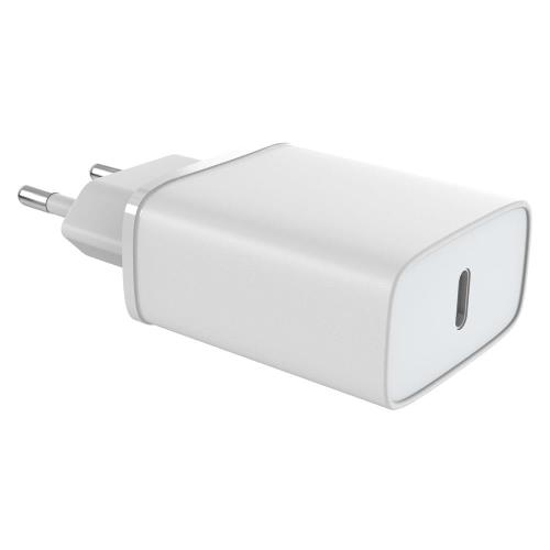 Travel Fast Charger inos with USB C Output PD 3.0 20W White