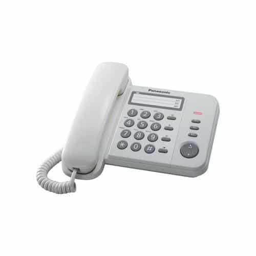 Σταθερό Τηλέφωνο Panasonic KX-TS520EX Λευκό