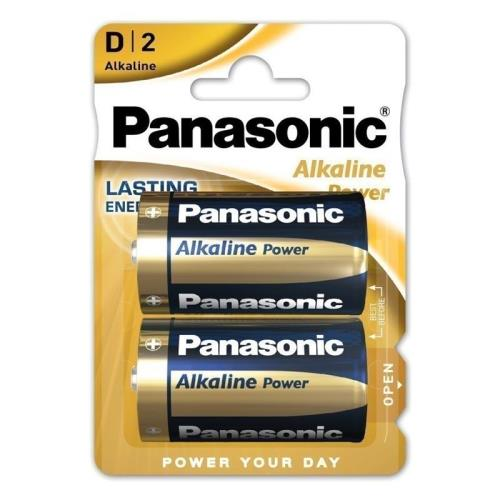 Battery Alkaline Power Panasonic D LR20 (2 pcs.)