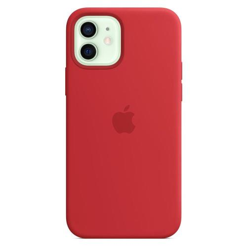 Silicon Case with MagSafe Apple MHL63 iPhone 12/ 12 Pro Red