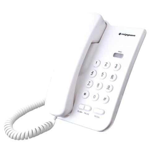 Land Line Phone Nippon NP 2035 White