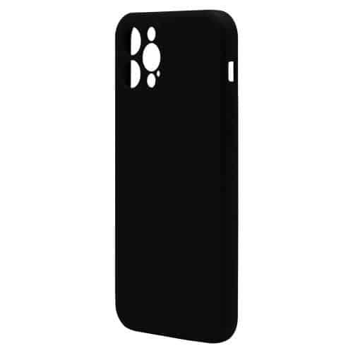 Liquid Silicon inos Apple iPhone 12 Pro L-Cover Matte Black