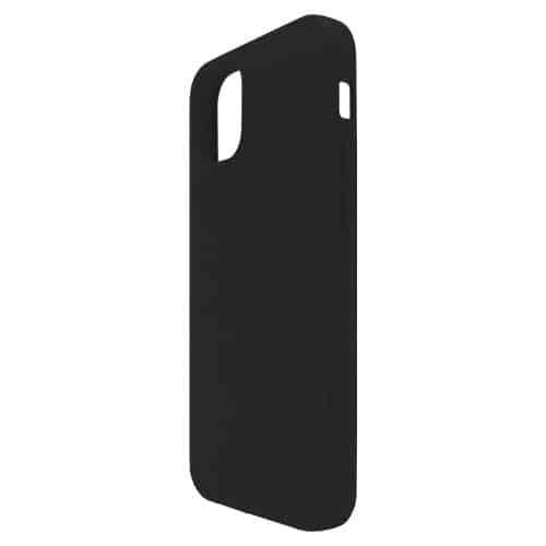 Θήκη Liquid Silicon inos Apple iPhone 12 mini L-Cover Μαύρο