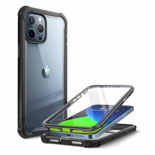Θήκη Full Body Rugged i-Blason Supcase Ares Apple iPhone 12 Pro Max Μαύρο