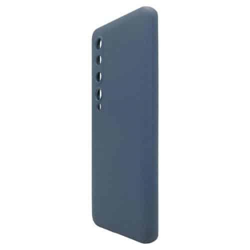 Θήκη Liquid Silicon inos Xiaomi Mi 10 5G/ Mi 10 Pro 5G L-Cover Μπλε Ραφ