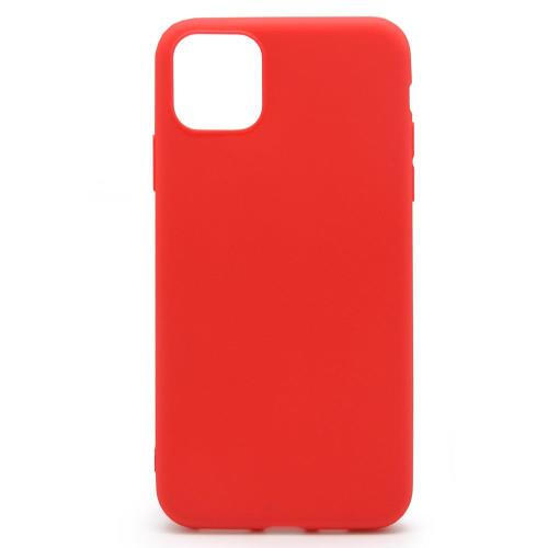 Soft TPU inos Apple iPhone 11 Pro Max S-Cover Red