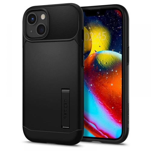 Θήκη TPU & PC Spigen Slim Armor Apple iPhone 13 Μαύρο