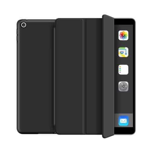Θήκη Flip Smart inos Apple iPad 7 10.2 (2019)/ iPad 8 10.2 (2020) με TPU Μαύρο