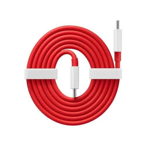 Καλώδιο Σύνδεσης OnePlus Warp Charge USB C σε USB C 1m Κόκκινο