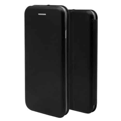 Θήκη Flip Book inos Xiaomi Redmi Note 9S Curved M-Folio Μαύρο