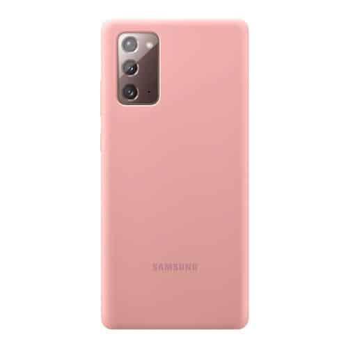 Silicon Cover Samsung EF-PN980TAEG N980F Galaxy Note 20 Mystic Bronze