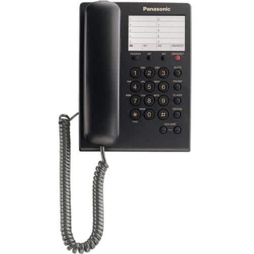 Land Line Panasonic KX-TS550 Black