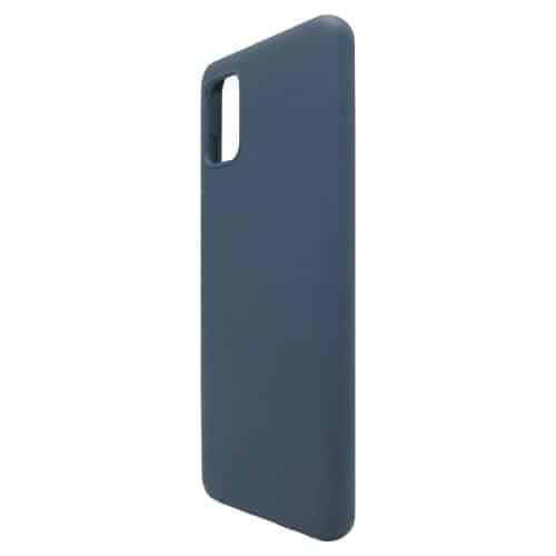Θήκη Liquid Silicon inos Samsung A315F Galaxy A31 L-Cover Μπλε Ραφ