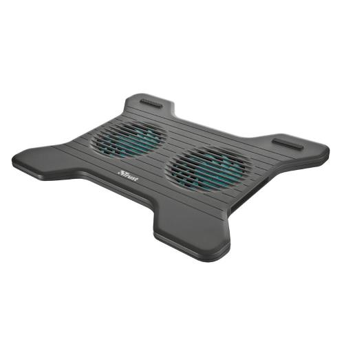 Trust Notebook Cooling Stand XSTREAM BREEZE 2 Fan for Laptop up to 16΄΄ Black